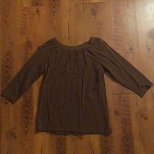 Brown Long Sleeve Shirt